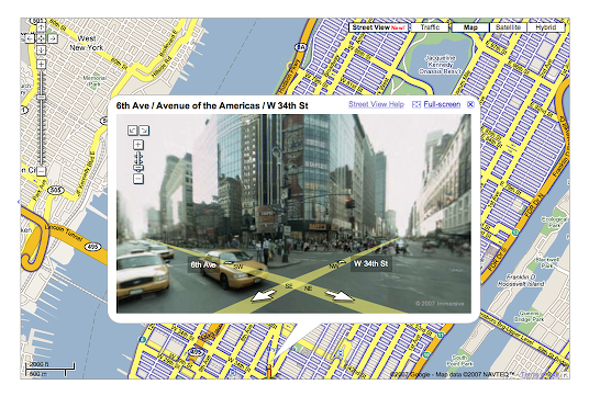 """comments on """" Google Maps Street View """""""