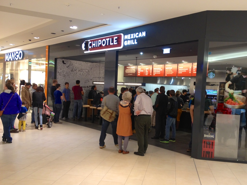 Chipotle Skyline Plaza Frankfurt